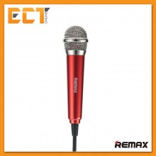 Remax RMK-K01 Singsong K Mini Microphone For Apple and Android Device (Red)