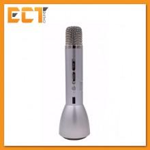 Magic Karaoke KTV-K088 Wireless Bluetooth Microphone Speaker with Recording & Powerbank Function - Silver