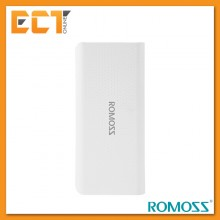 Romoss Sense 4 LED 10400mAh Li-Polymer Power Bank - White