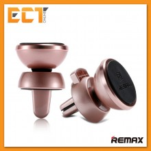Remax RM-C19 Car Vent Magnetic Smartphone Holder for Apple and Android Devices (Rose Gold)