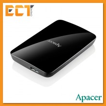 Apacer AC233 1TB USB 3.0 Portable External Hard Disk Drive - Black
