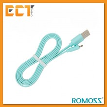 Romoss 1M Fast Charging & Data Sync Micro USB Charging Cable - Green