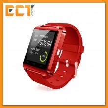 Evatronic U8 UWatch Bluetooth Touch Screen Smart Watch - Android Smart Wrist Wear Notification (Red)