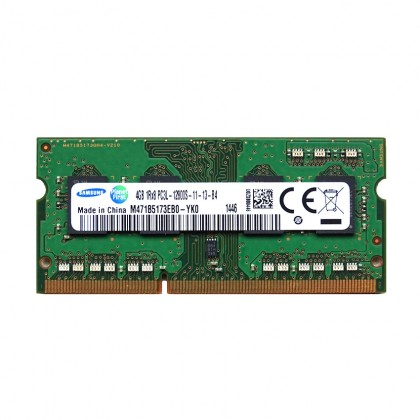 Samsung 4GB DDR3L-12800S 1600Mhz Low Voltage Notebook Memory Ram