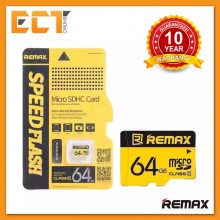 Remax 64GB Class 10 80MB/s Fast Performance Micro SDHC Memory Card