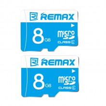 (Bundle) 2 x Remax 8GB Class 6 80MB/s Fast Performance Micro SDHC Memory Card