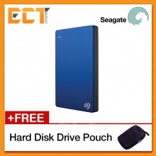 Seagate Backup Plus Slim 1TB Portable Hard Drive USB 3.0 STDR1000102 Bulk Pack - Blue