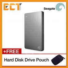 Seagate Backup Plus Slim 1TB Portable Hard Drive USB 3.0 STDR1000101 Bulk Pack - Silver