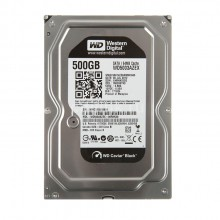 Western Digital 3.5 Caviar Black 500GB Internal Hard Disk (WD5003AZEX)