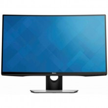 "Dell SE2716H 27"" FHD Widescreen LED Backlit LCD Curved Monitor build in speaker (1920 x 1080)"