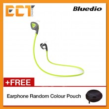 Genuine Bluedio Q5 Bluetooth 4.1+EDR Newest Generation of Sport Headphone / Headset (Green)