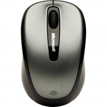 Microsoft 3500 BlueTrack Technology Wireless Mobile Mouse - Grey