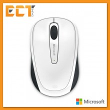 Microsoft 3500 BlueTrack Technology Wireless Mobile Mouse - White