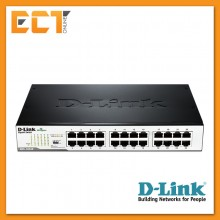D-Link DGS-1024D 24-Port Gigabit Unmanaged Desktop/Rackmount Switch