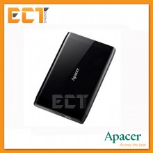"Apacer AC235 1TB USB 3.1 2.5"" Super Speed Portable Hard Drive - Black"