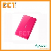 "Apacer AC235 1TB USB 3.1 2.5"" Super Speed Portable Hard Drive - Pink"