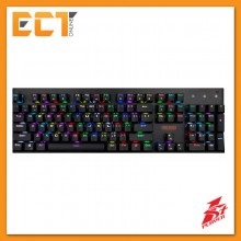 1STPLAYER Firerose RGB MK3 Mechanical Gaming Keyboard with Various Lighting Effect (Black)