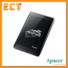 Apacer PANTHER AC235 1TB USB 3.1 Portable External Hard Disk Drive - Black