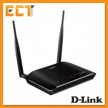 D-Link DSL-2750E N300 Wireless ADSL2+ 4-Port Wi-Fi Modem Router