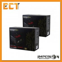 (Bundle) Imperion Gaming ATX-600W Extreme Series Black Edition Power Supply Unit