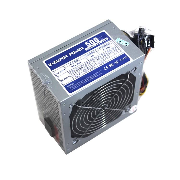 E-Super Power 500W-P4 500 Watt Power Supply Unit with 12cm Fan