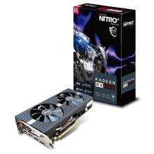 Sapphire Nitro+ Radeon RX 580 4GB GDDR5 PCI-E Graphic Card with Backplate (with 2 HDMI + 1 DVI-D + 2 Display Port Output)