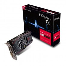 Sapphire Pulse Radeon RX 560 4GB GDDR5 PCI-E Graphic Card with Backplate Mining Card (with 1 HDMI + 1 DVI-D + 1 Display Port Output)
