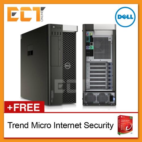Dell Precision Tower T5810 Workstation Desktop (E5-1603 v3  2 80Ghz,500GB,8GB,Quadro K2200-4GB D5,W10Pro)