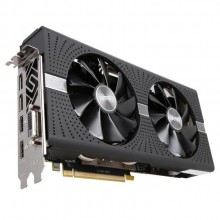 Sapphire Nitro+ Radeon RX 570 4GB GDDR5 PCI-E Graphic Card with Backplate (with 2 HDMI + 1 DVI-D + 2 Display Port Output + 1 DVI)