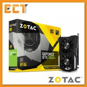 Zotac Geforce GTX 1050 Ti OC Edition 4GB GDDR5 128-Bit PCI-E Graphic Card (with 1 Display Port Output + 1 HDMI + 1 DVI)
