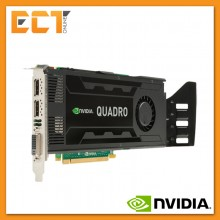 (Bulk Pack) Nvidia Quadro K4000 3GB GDDR5 192Bit Workstation Graphic Card