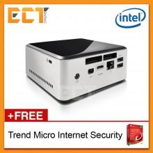 Intel Barebone NUC Kit D54250WYKH Mini PC (i5-4250U 2.60Ghz,HD5000,Support 2.5 HDD+Msata SSD)