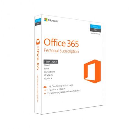 Genuine Microsoft Office 365 Personal (1 User)