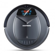 Evatronic B3000 Plus Multifunctional Robot Vacuum Cleaner with Water Tank,Wet & Dry (Black)