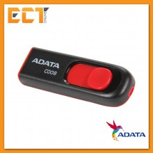 Adata C008 16GB USB 2.0 Flash Drive - Black