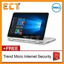"Dell Inspiron 11 3168T-7145SG-W10 11.6"" Laptop (N3710, 4GB, 500GB, Intel, W10H) - White"
