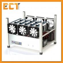 (Demo Set) Bitcoin (BTC) / Ethereum (ETH) / Zcash (ZEC) x6 Pcs Nvidia P106-6GB Mining Rig PC Package (150Mh+-)