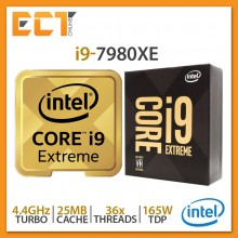 Intel Core i9-7980XE Desktop Processor (2.60Ghz, 24.75MB SmartCache, 36 Threats, LGA2066 Socket)