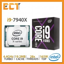 Intel Core i9-7940X Desktop Processor (3.10Ghz, 19.25MB SmartCache, 28 Threats, LGA2066 Socket)