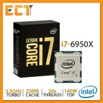 Intel Core i7-6950X Desktop Processor (3.00Ghz, 22MB SmartCache, 20 Threats, LGA2011-v3 Socket)