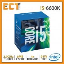 Intel Core i5-6600K Desktop Processor (3.90Ghz, 6MB SmartCache, 4 Threats, LGA1151 Socket)