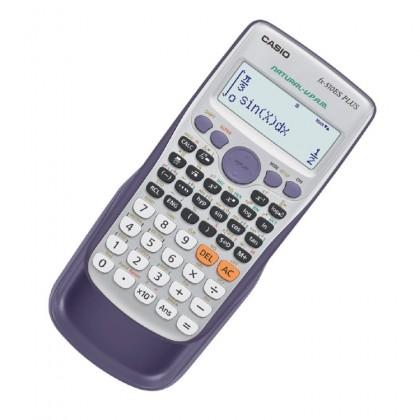 Genuine Casio FX-570ES Plus Electronic Scientific School Calculator - Black