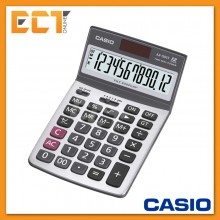 Genuine Casio AX-120ST 12 Digits Electronic Compact Desk Type Calculator - Black
