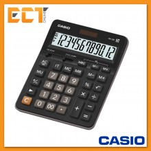 Genuine Casio GX-12B 12 Digits Value Calculator - Black