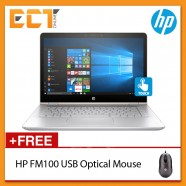 "(Demo Set) HP Envy 13-D045TU 13.3"" QHD Notebook (i7-6500U 3.10GHz,8GB,256GB,W10) - Silver"