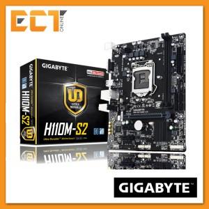 Gigabyte H110M-S2 LGA 1151 Socket 3 PCI-E Slot M-ATX Ultra Durable Motherboard