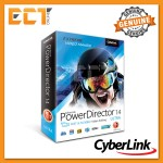 Genuine Cyberlink PowerDirector 14 Ultra Fast & Flexible Video Editing Software