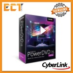 Genuine Cyberlink PowerDVD 15 Ultra Software Support for All Media Types