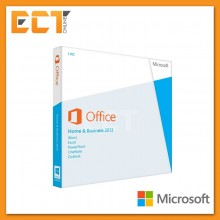 Genuine Microsoft Office 2013 Home and Business Retail Package (APAC-EM-DVD)