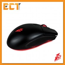 1STPLAYER Black Sir BS300 AVAGO 3050 2000DPI Optical Gaming Mouse - Black / Red
